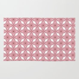 Millennial Pink- Lucy's Stars Graphics Pattern Rug