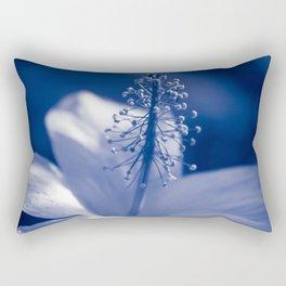 Enchanting Moments - Pua Aloalo - Koki'o Ke'oke'o - Hibiscus Arnottianus - Hawaiian White Hibiscus Rectangular Pillow