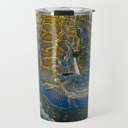 Snakes: Reticulated Python Travel Mug