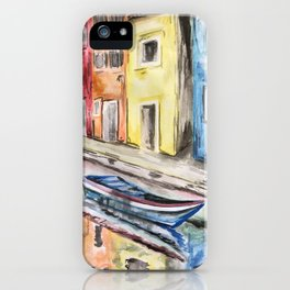 Life in Venice iPhone Case