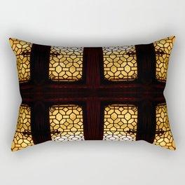 GoldenGlow Rectangular Pillow