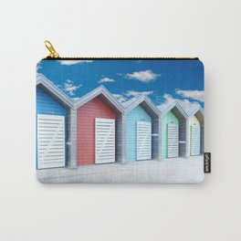 'Beach huts' Northumberland Carry-All Pouch