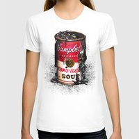 vegetable T-shirts featuring Cream of Vegetable by Daryll Peirce