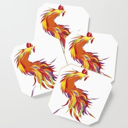Red Rooster Coaster
