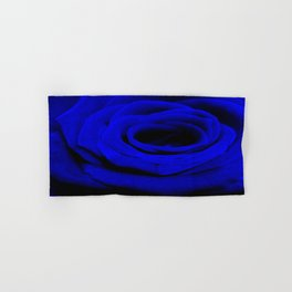 Expansion Blue rose flower Hand & Bath Towel