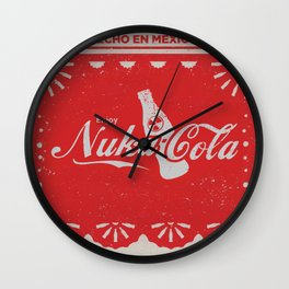 An Ice Cold Nuka Cola - Fallout Universe Wall Clock
