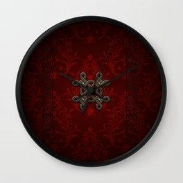 Decorative celtic knot Wall Clock