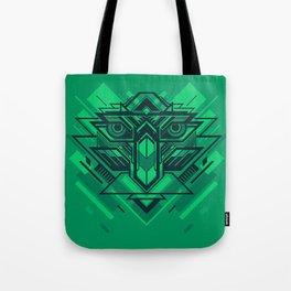Cyber Bird Tote Bag