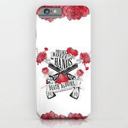 Illuminae - Death Blooms iPhone Case