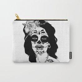 Dama De La Muerte Carry-All Pouch