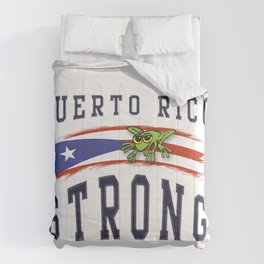 PUERTO RICO STRONG Comforters