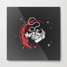 Baby Astronauta Metal Print