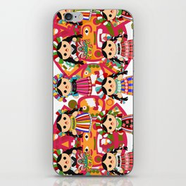 Mexican Dolls iPhone Skin