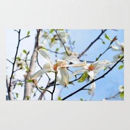 Spring Tree Flowers Rug