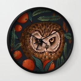 Rockefeller Owl Wall Clock