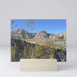 Wilderness - Outdoors - Red Rock Southern Nevada Mini Art Print
