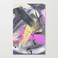 fireworks Canvas Prints featuring Fireworks by MADE BY GIRL