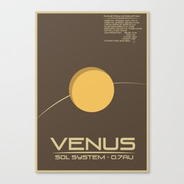Sol: Venus Canvas Print