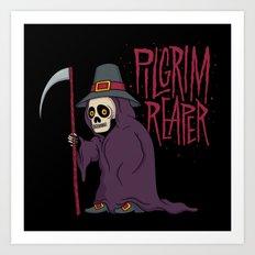 PilGrim Reaper Art Print