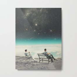 You Were There, in my Deepest Silence Metal Print