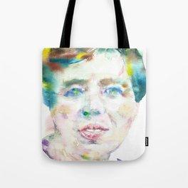 ELEANOR ROOSEVELT - watercolor portrait Tote Bag