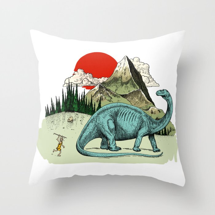 If you don't try, you'd never know how to Throw Pillow