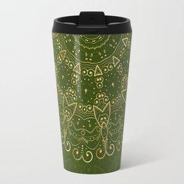Mandala Golden Collection IV Travel Mug