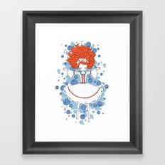 Blueberry Dream Framed Art Print