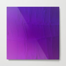 Purple Hues Reptilian Obscurity Metal Print