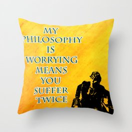 Newt Scamander Quote Throw Pillow