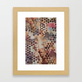 Our Hearts Are Glued Together II Framed Art Print