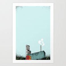 The plant / Anrikningsverket Boliden Art Print