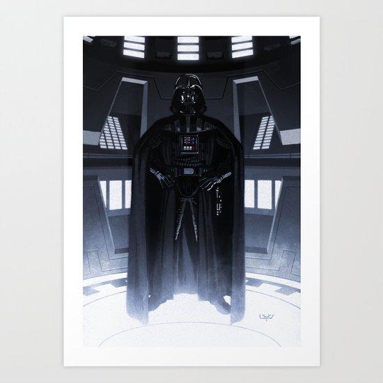 Lord Vader Art Print
