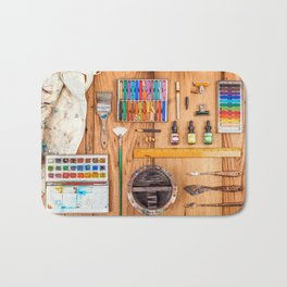 The Artist's Tools Bath Mat