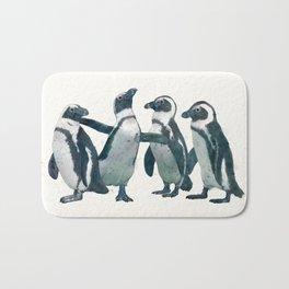 penguin party Bath Mat