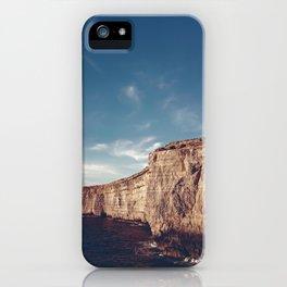 Malta's Cliffs   Aerial iPhone Case