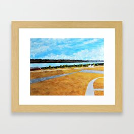 Seneca Lake by Mike Kraus Framed Art Print