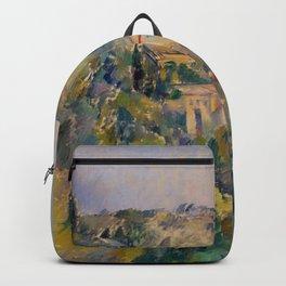 "Paul Cezanne ""View of the Domaine Saint-Joseph"" Backpack"