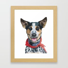 Jordy Framed Art Print
