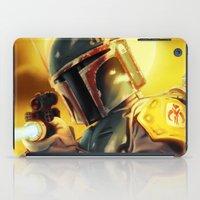 boba fett iPad Cases featuring Boba Fett by Andre Horton