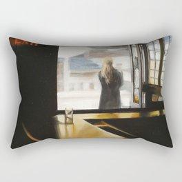 """""""SUBWAY INN"""" Rectangular Pillow"""