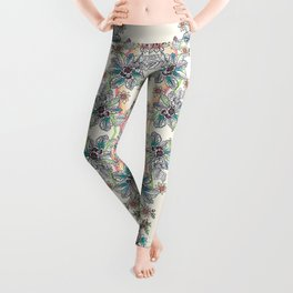 Wire Floral Leggings