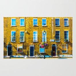 London Terraced Houses Rug