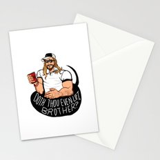DOTH THOU EVEN LIFT, BROTHER? Stationery Cards