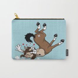 Clumsy Centaur Carry-All Pouch