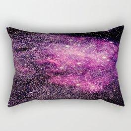 space galaxy Pink Purple Rectangular Pillow