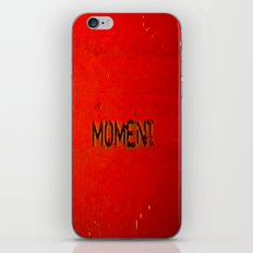 shifted moment iPhone & iPod Skin