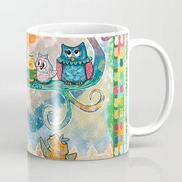 A Family Hoot Coffee Mug