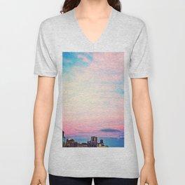 Tie Dye in the Sky 5 Unisex V-Neck