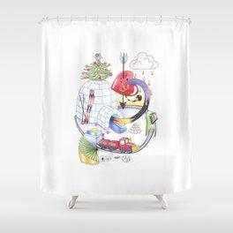 Igloo Shower Curtain